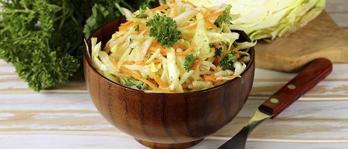 Салат из капусты как в столовой рецепт
