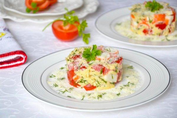 Салат с крабовыми палочками. Появился уникальный рецепт салата 2019 года
