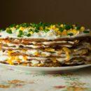 Печеночный торт — король стола! Шеф придумал собственный рецепт популярного блюда