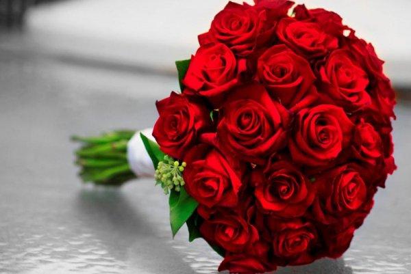 Типы букетов из роз