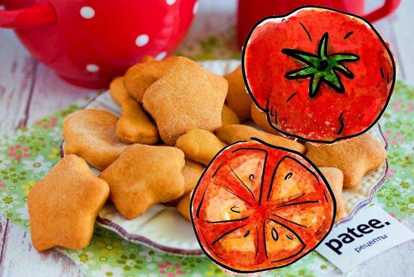 Как удивить сладкоежку: печенье на томатном соке